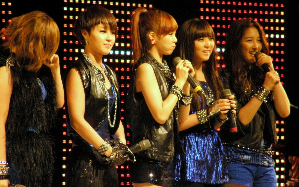 The members of 4Minute.
