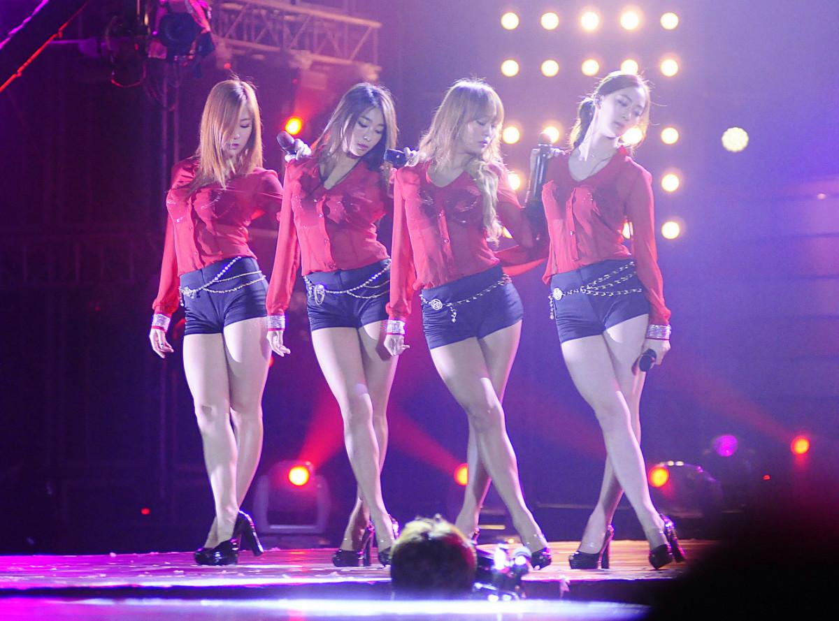 The members of Sistar.