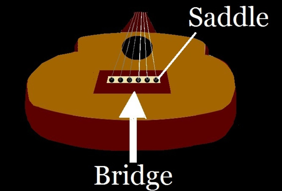 ...the bridge & saddle...