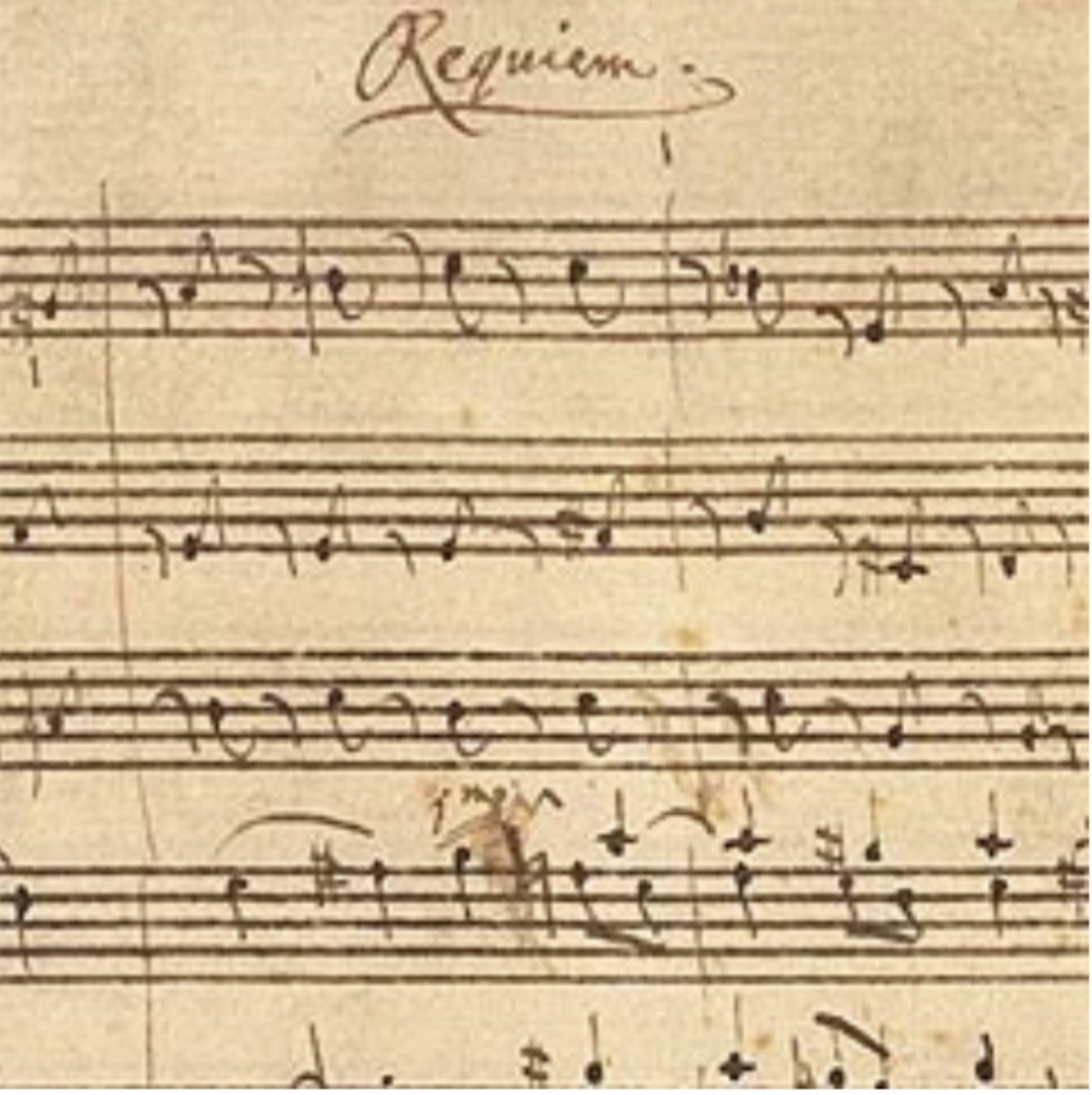 The original Requiem score.