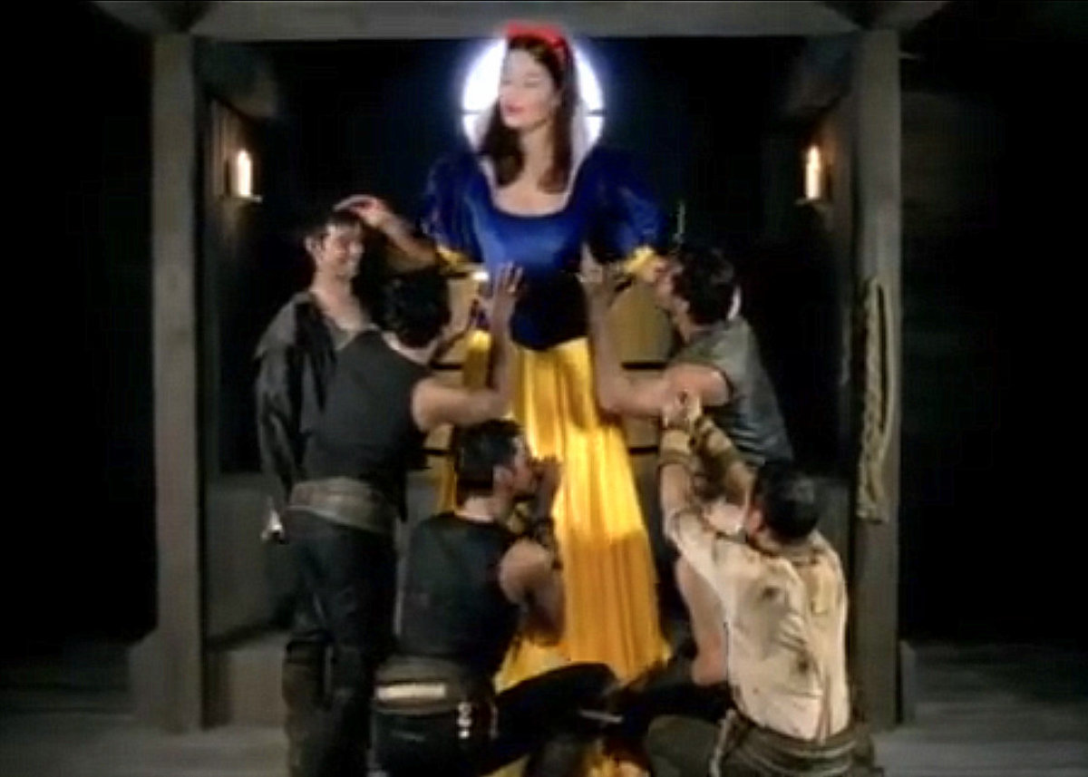 Snow White and her Rammstein Dwarves.