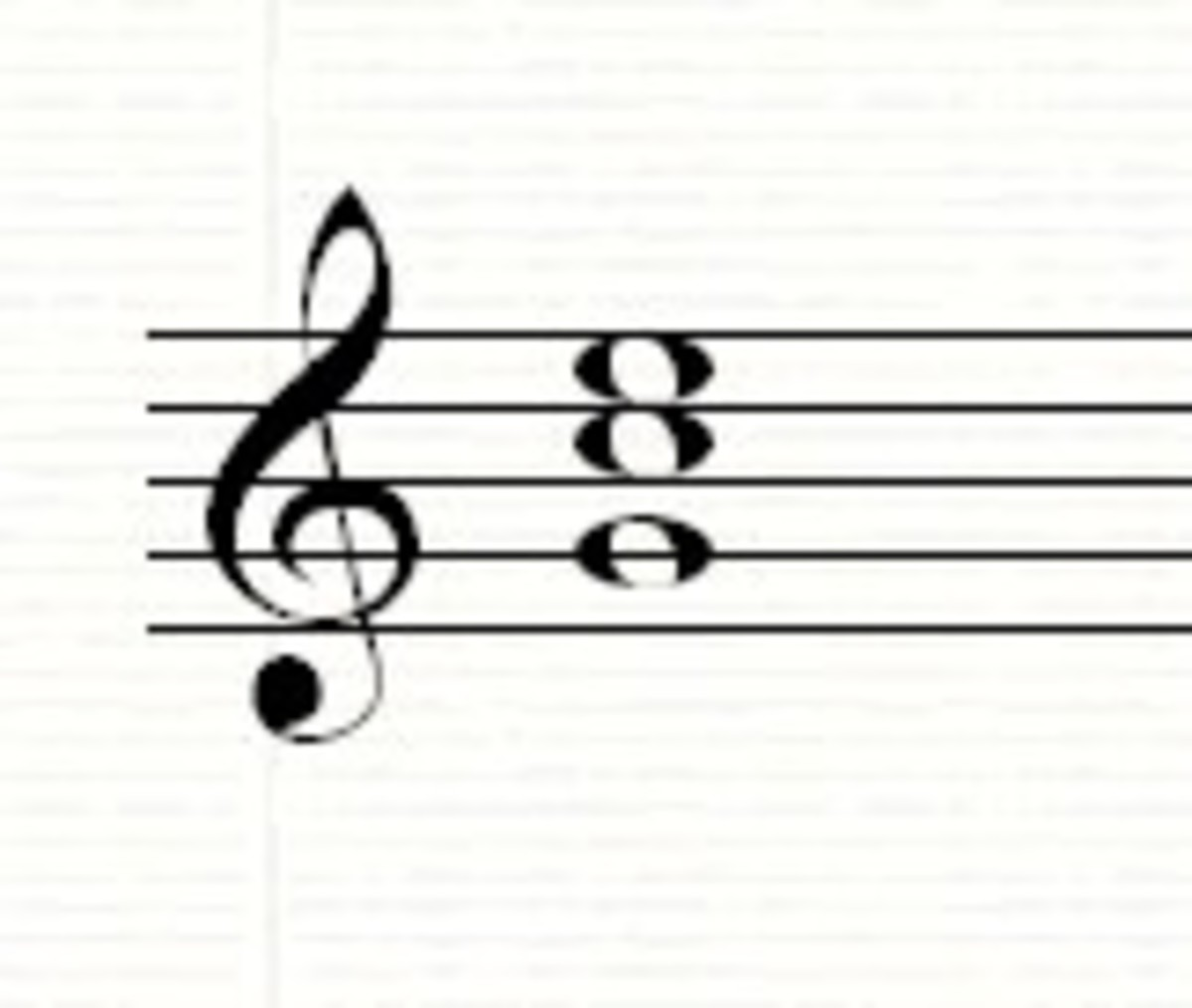 The C chord in 2nd inversion (bottom note G)