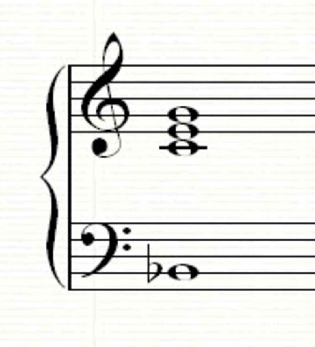 C7 chord in 3rd inversion (B flat is the lowest note)