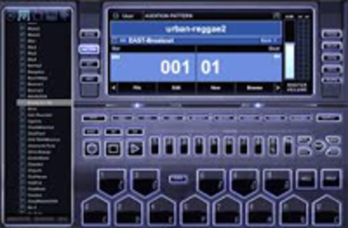 With beat maker software you can quickly build up a fantastic sounding beat & bass line
