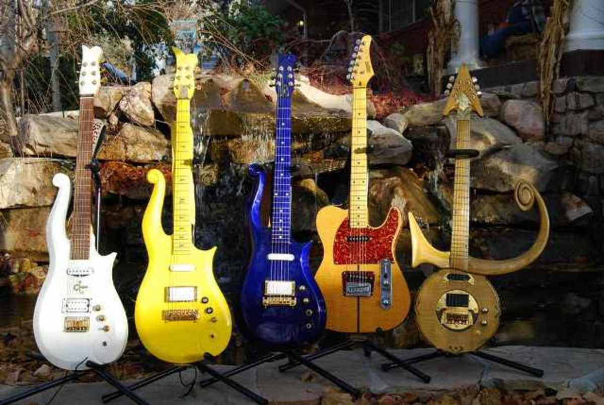 The many faces of guitars