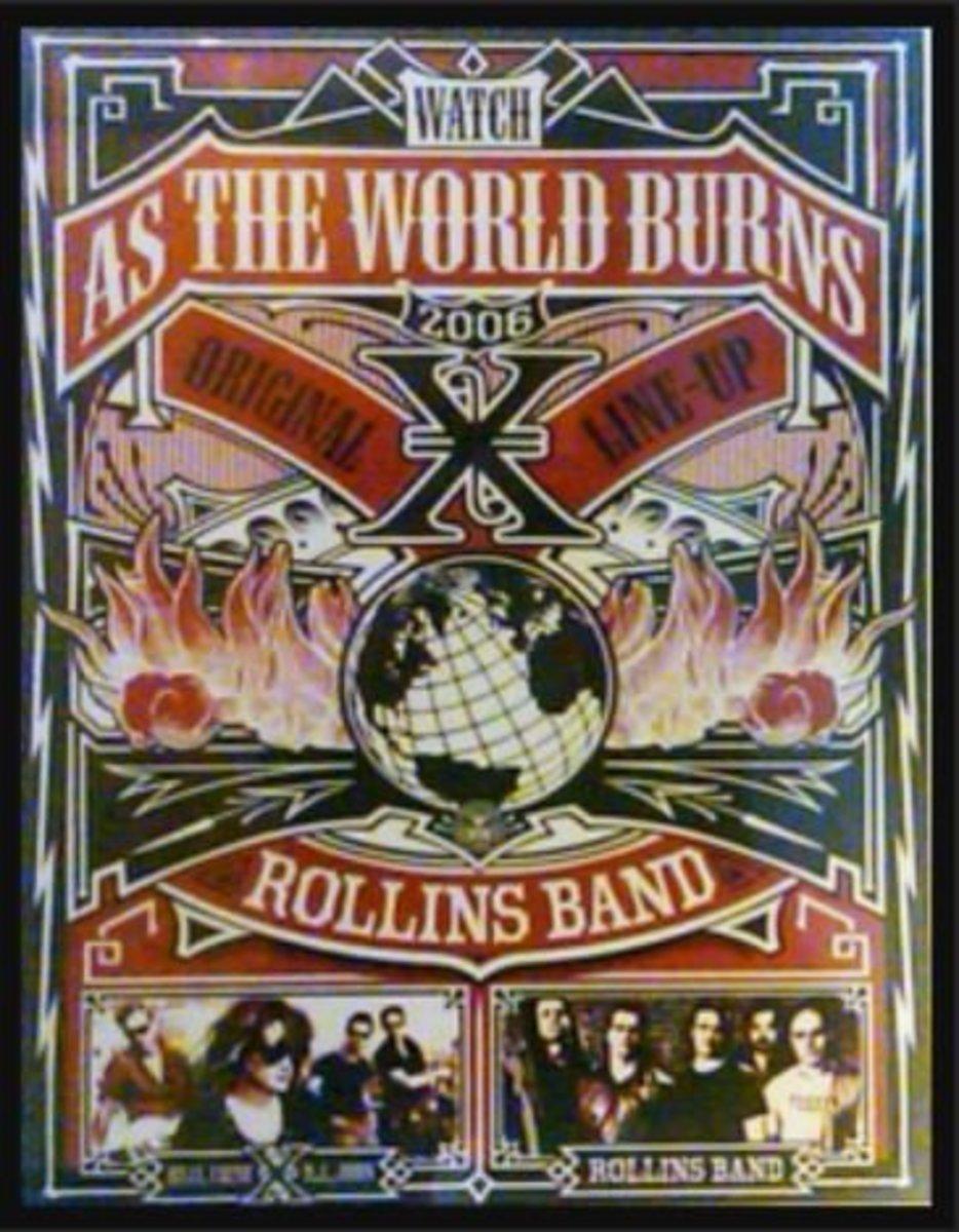 X Tour Poster