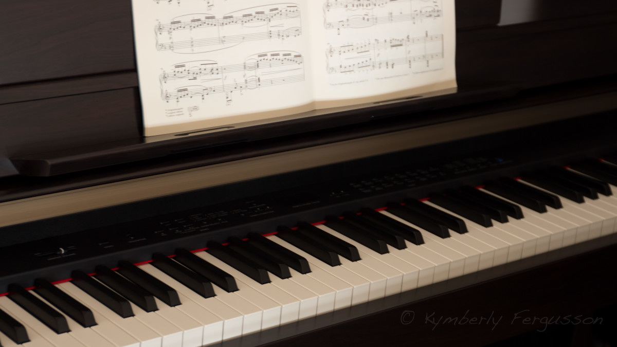 Piano and music - de-stress and relax.