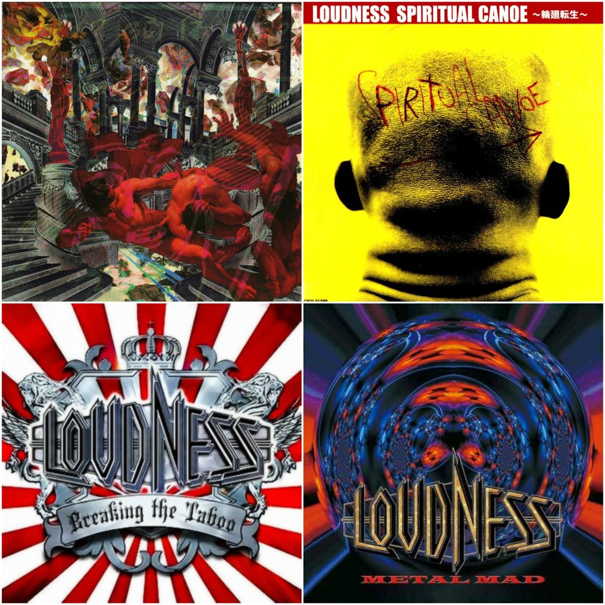 Loudness (1992), Spiritual Canoe (2001), Breaking The Taboo (2006), Metal Mad (2008)