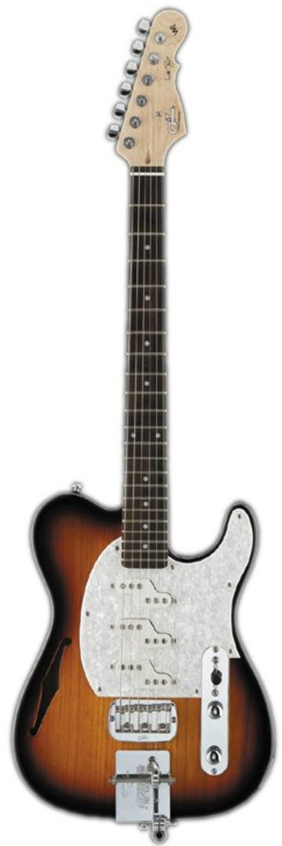 G & L Will Ray Tribute Signature