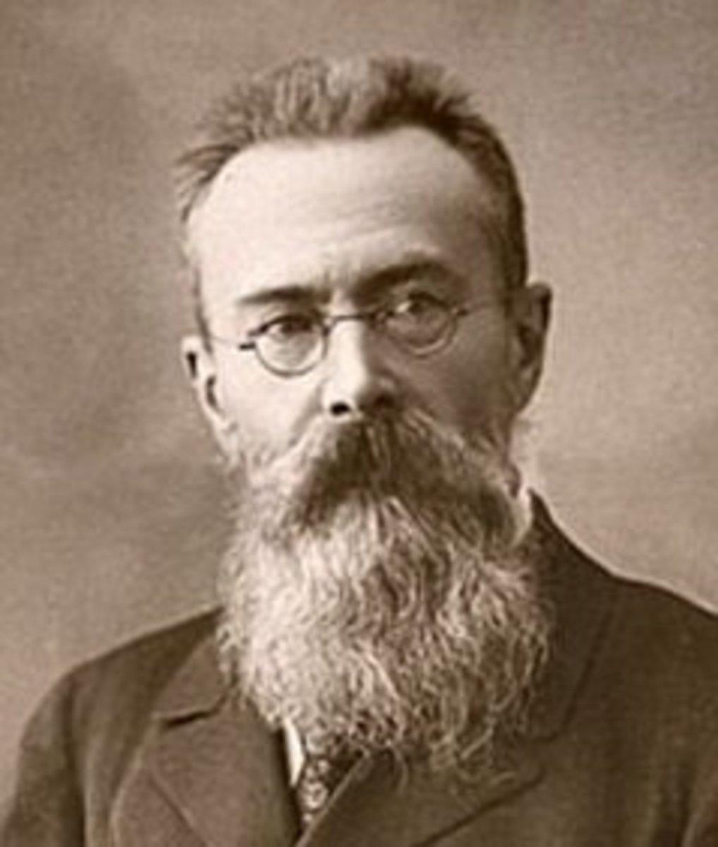 Nikolai Rimsky-Korsakov, aged 53.
