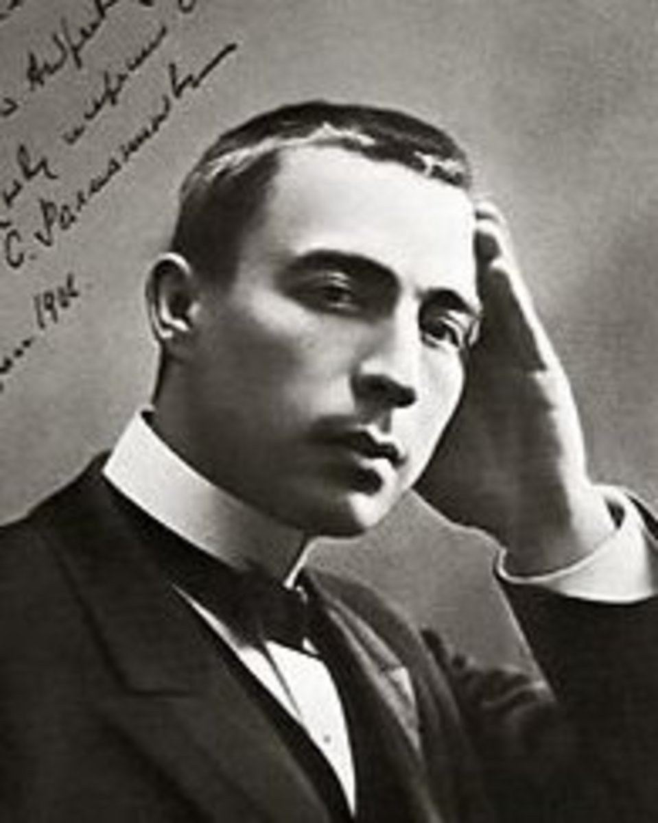 Sergei Rachmaninov, aged 33.
