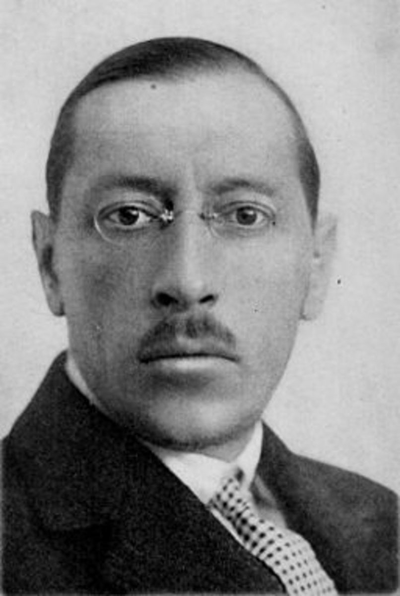 Igor Stravinsky.