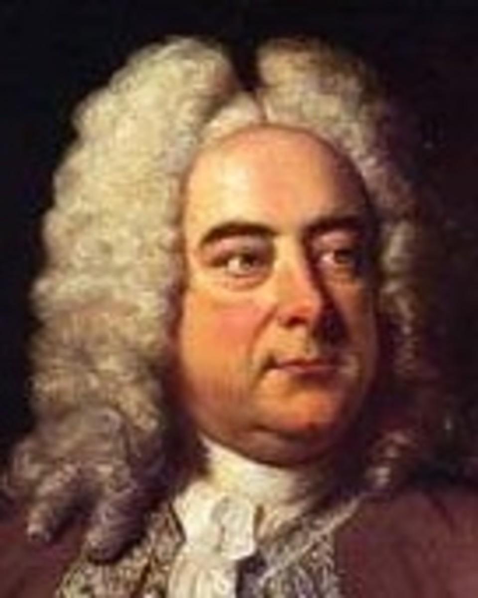 George Friedrich Handel.