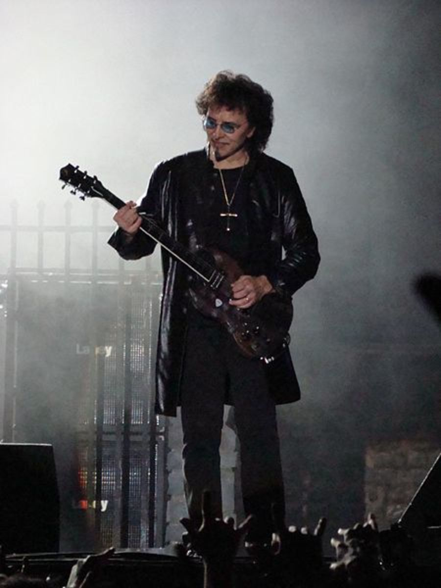 Tony Iommi: the legend that started it all.