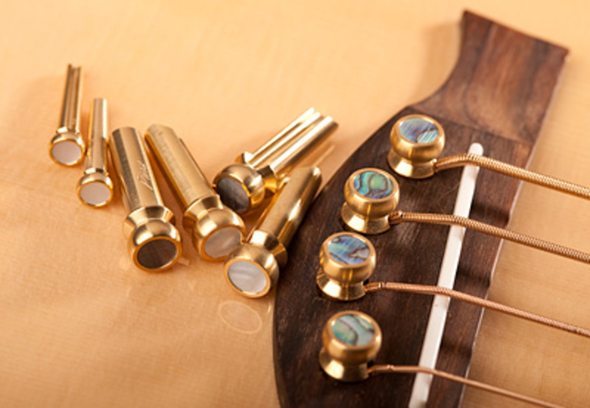 String pegs hold your string into place into the body of the guitar. If one comes loose, so does your string.