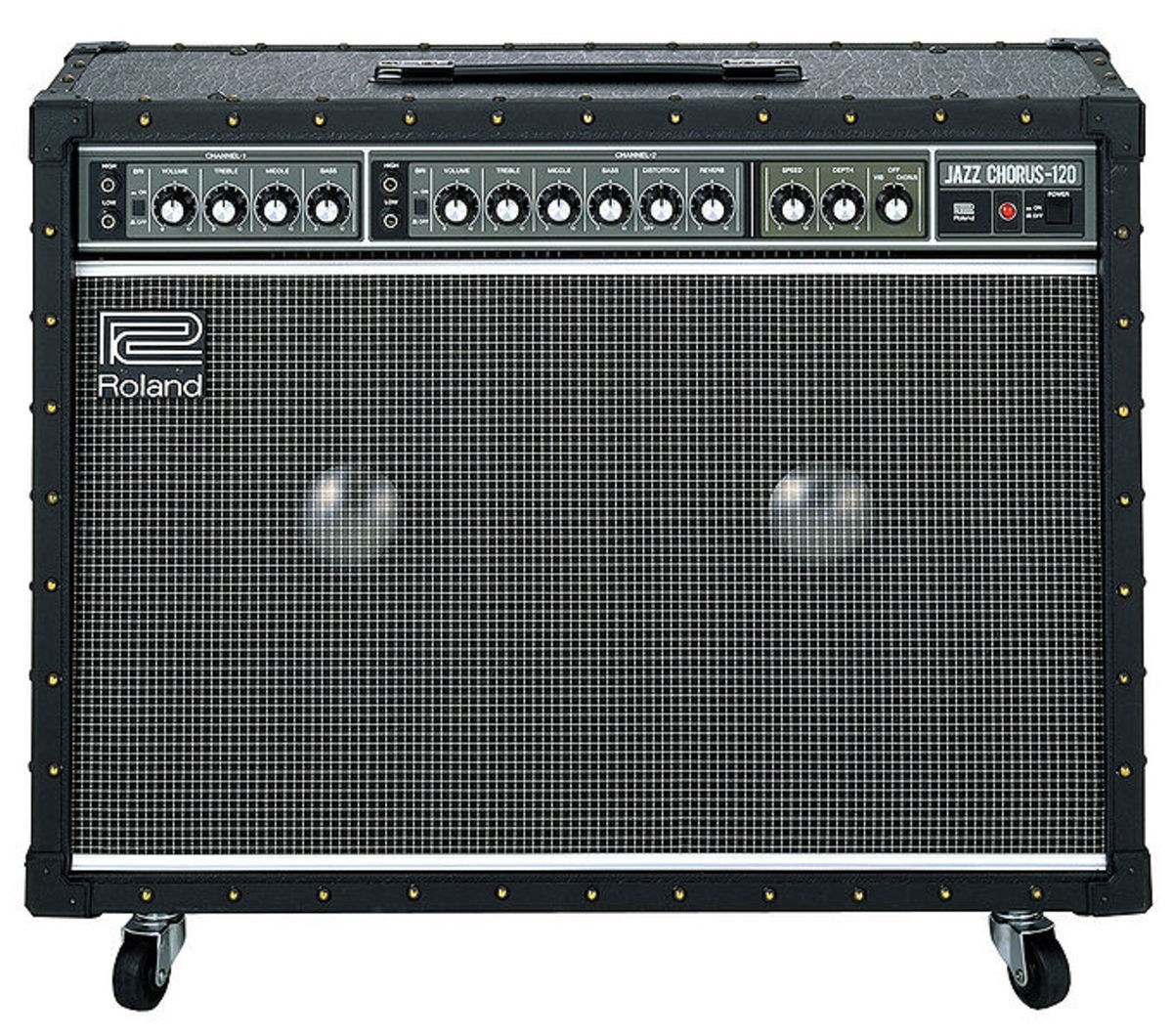 The Roland JC-120 is a solid-state amp favored for its awesome clean sound.