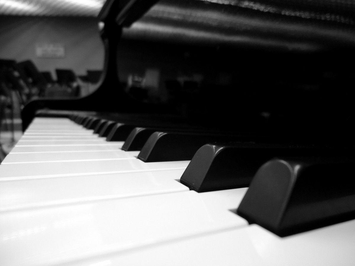 The Piano is a singer's best friend. Singing along to the notes you play on the piano, helps you improve your vocal range and pitch control.
