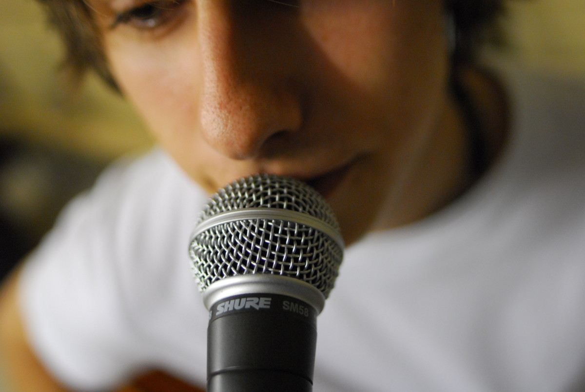 Sing with passion and confidence. Remember that practice makes one perfect. You have nothing to lose and loads to gain!