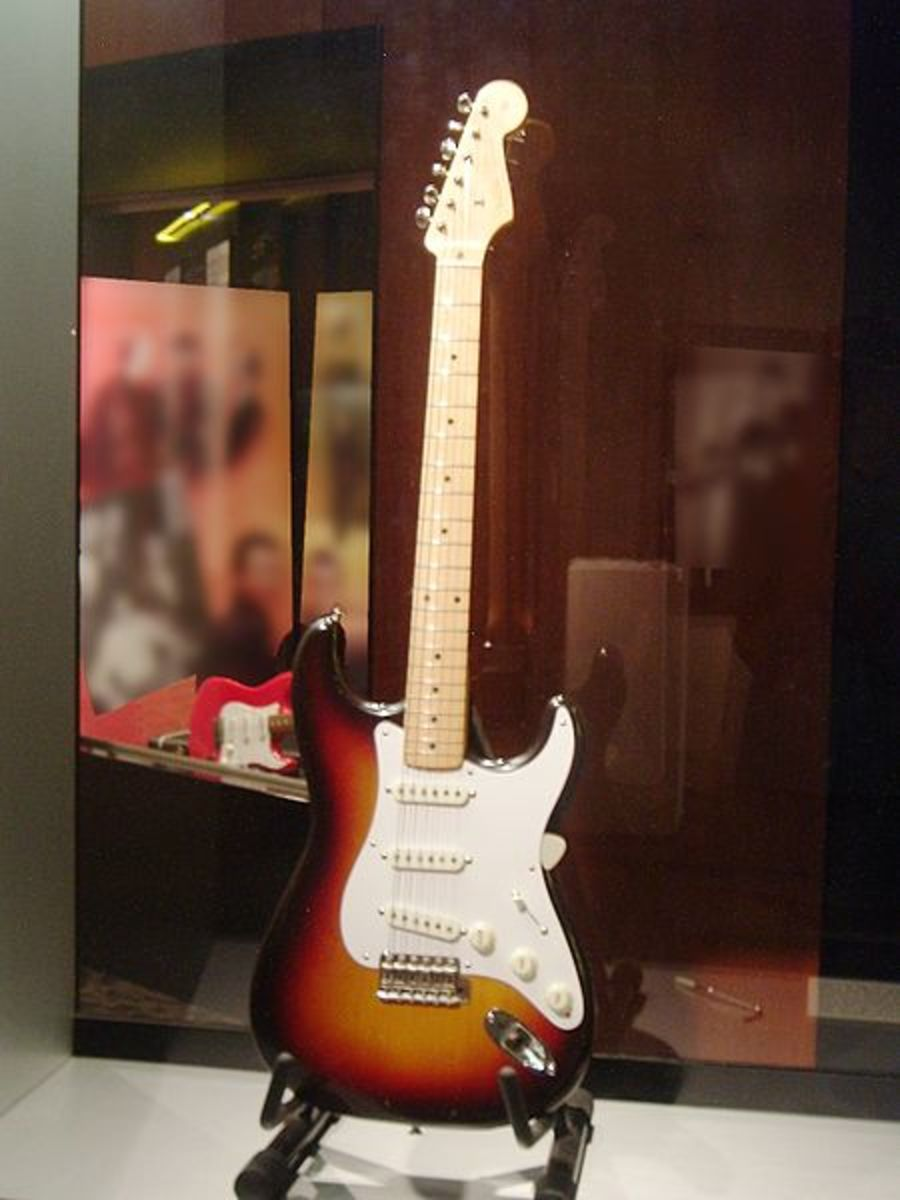 Buddy Holly's 1958 Fender Stratocaster