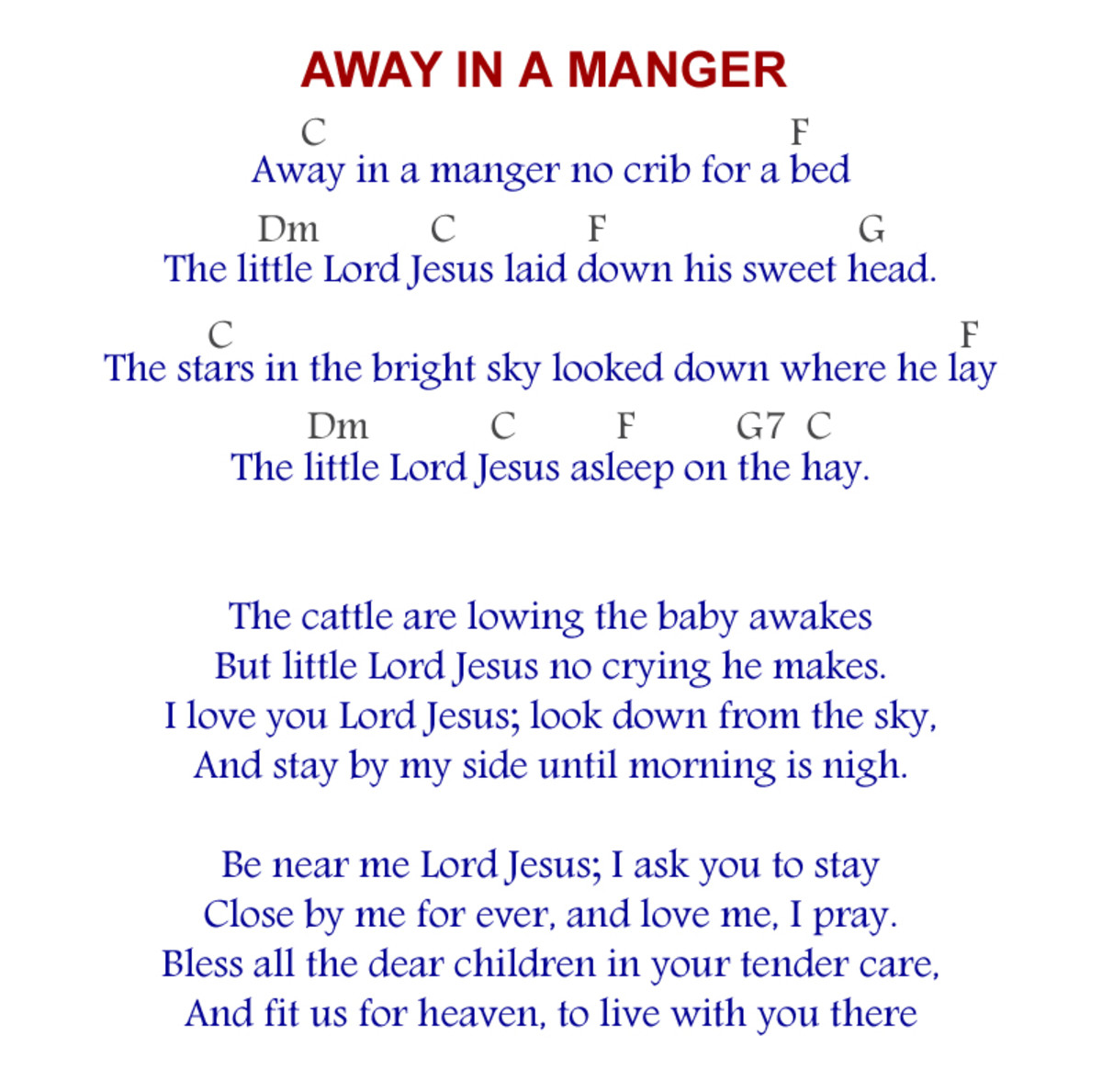 away-in-a-manger-acoustic-guitar-arrangement