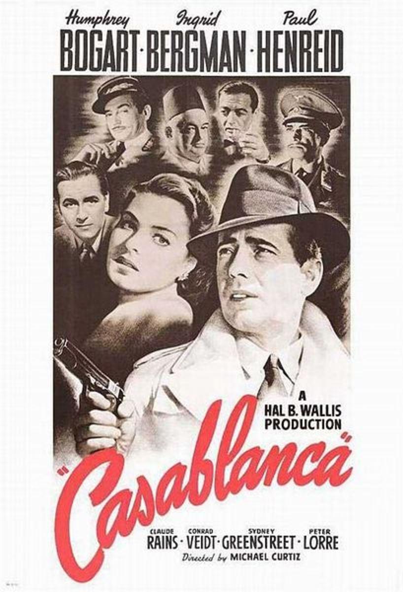 Casablanca is one of the most romantic movies of all time.