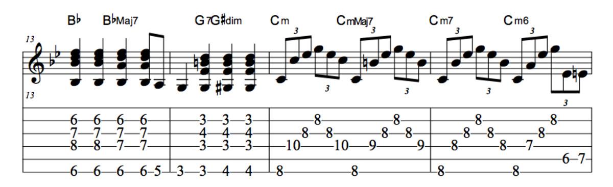 Jazz Guitar Lessons • Crazy • Patsy Cline