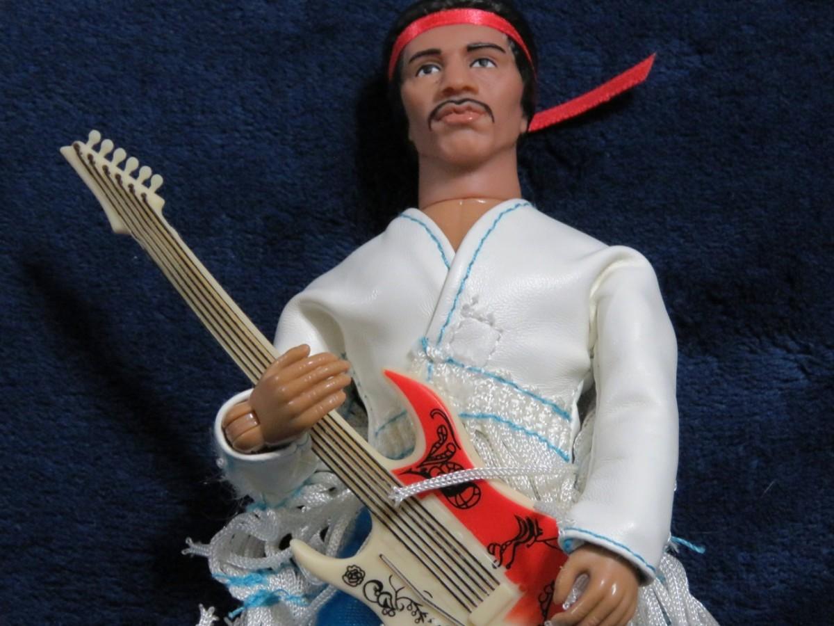Jimi Hendrix Mego Action Figure