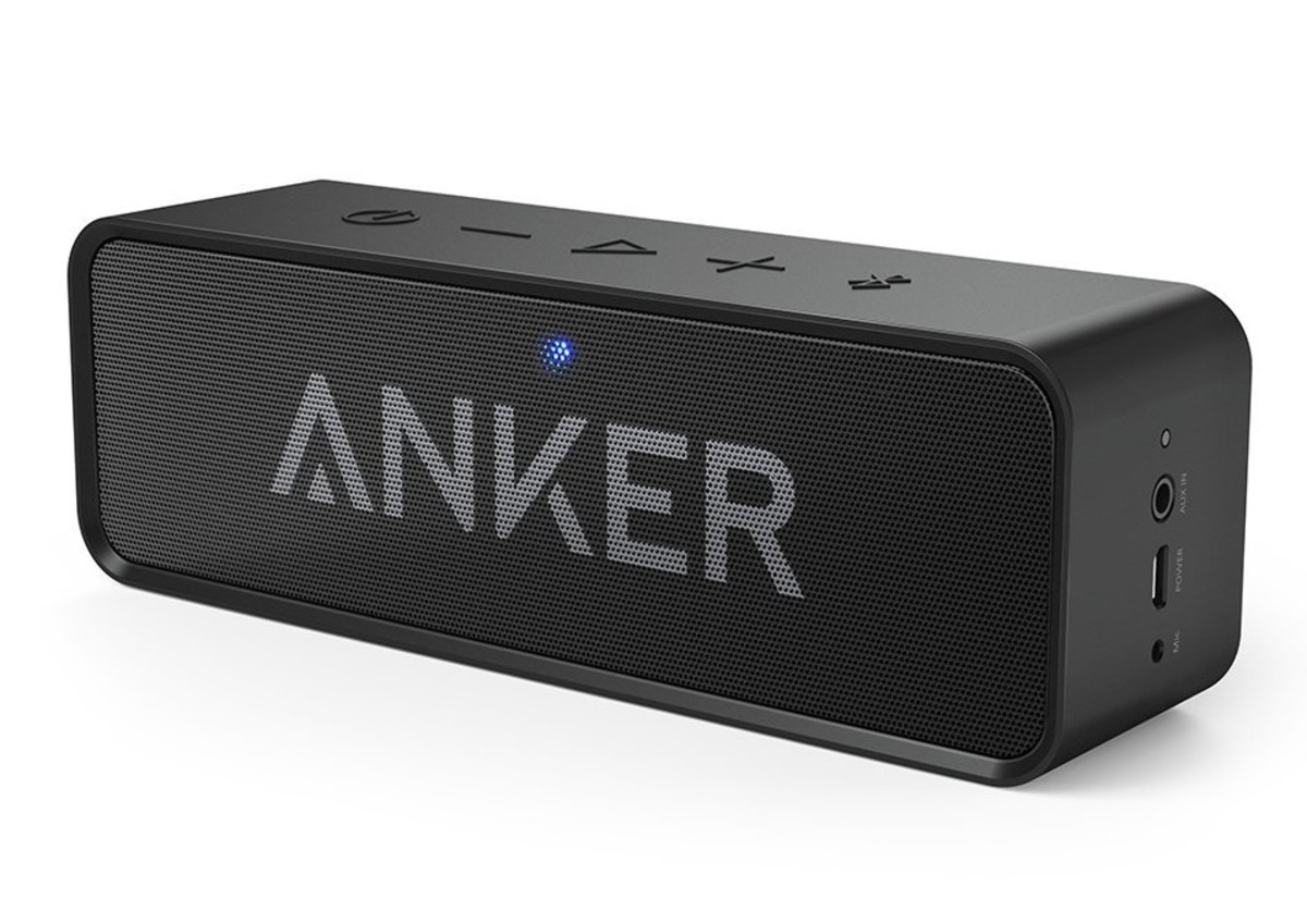 For just $36, the Anker SoundCore packs quite a punch.