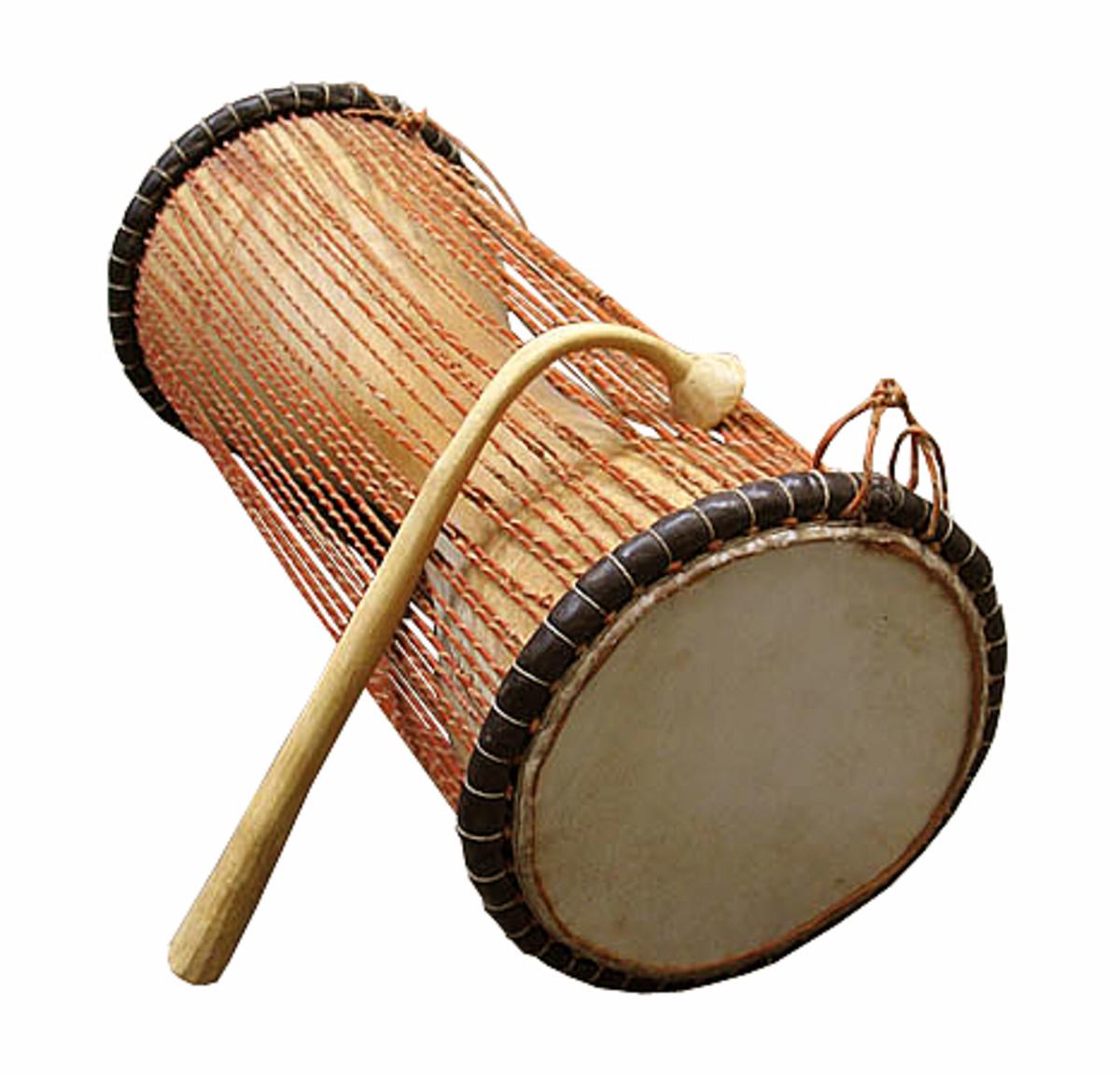 The talking drum Tama