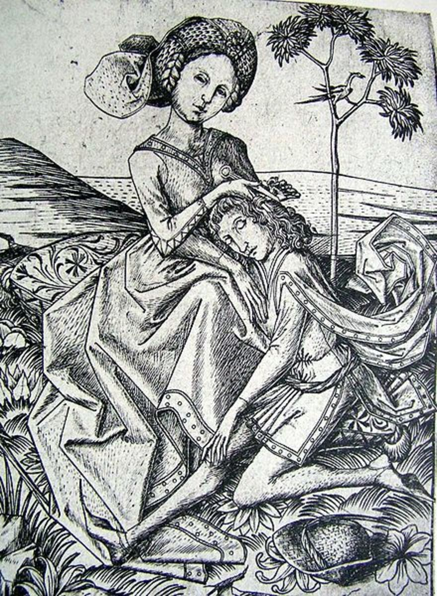 Samson and Delilah is just one example of a Biblical account which inspired the song writing of Frank Black of the Pixies.
