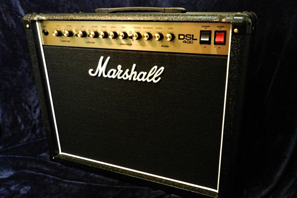 The Marshall DSL40C is a combo amp with serious tone and power.