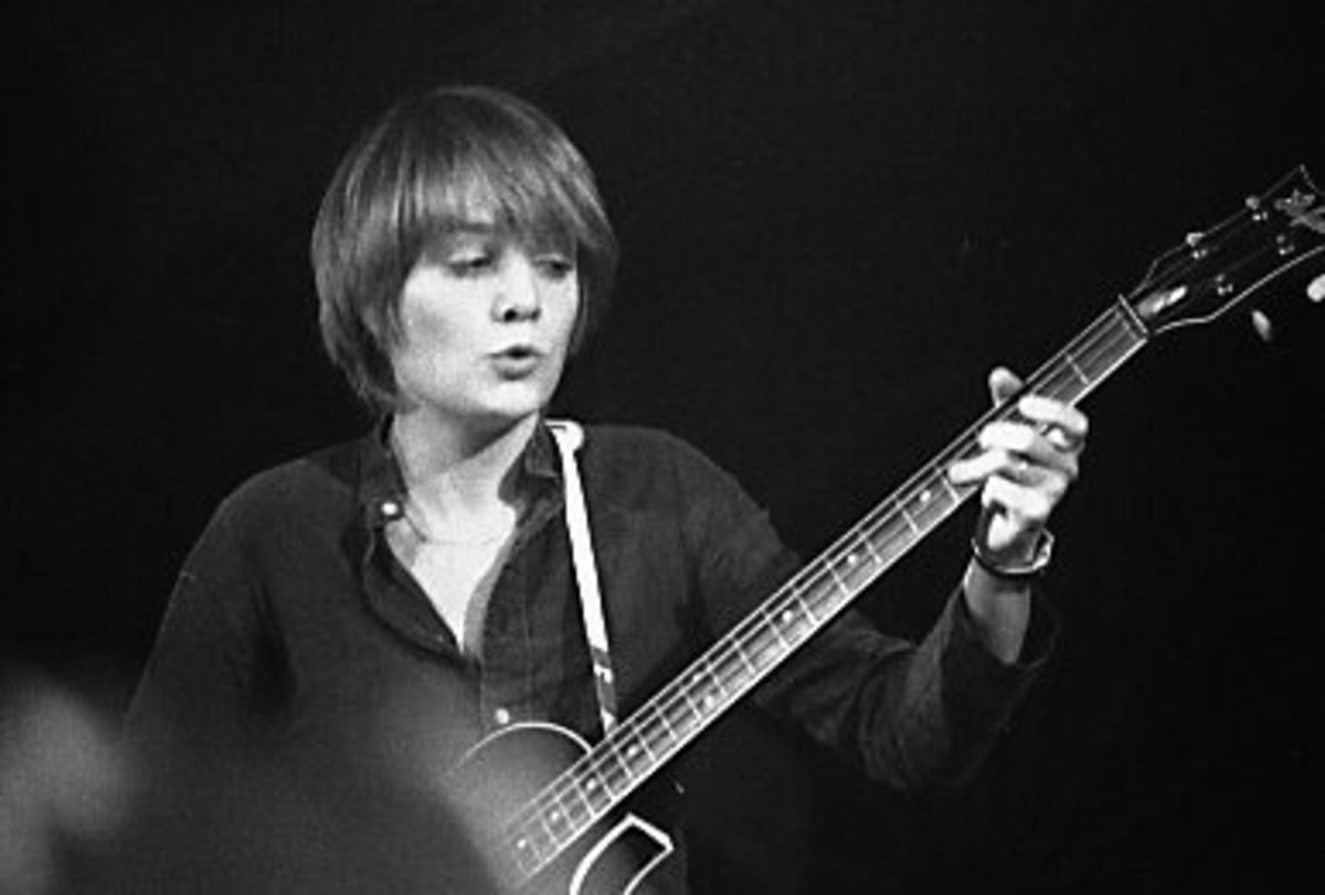 Tina Weymouth, bass player of the Talking Heads during a May 13th, 1978 performance at Toronto's Horseshoe Tavern.