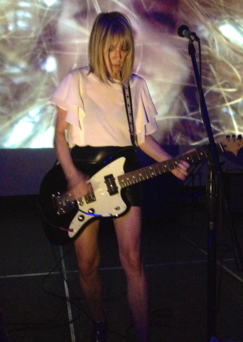 Indie rock bass goddess of Sonic Youth is playing with her side project Body/Head.