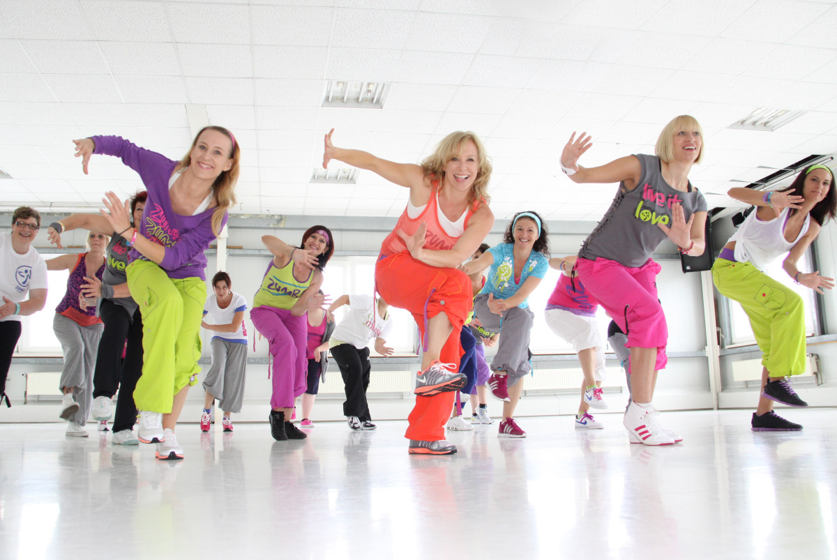 Zumba is fun way to work out and be healthy