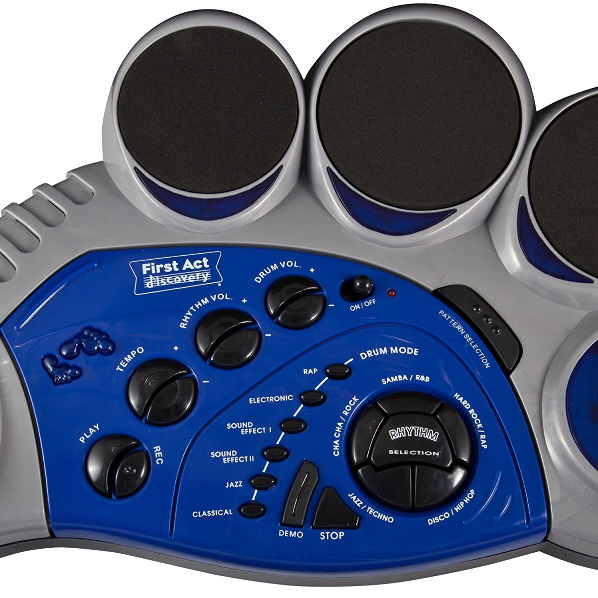 First Act FD213 5-pad electronic drums.