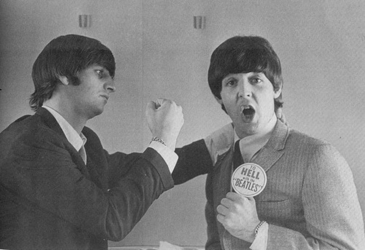 Half of The Beatles