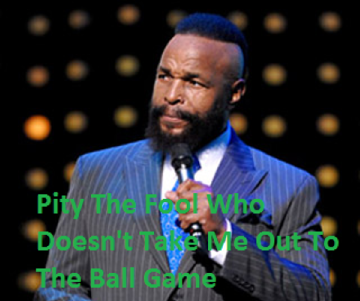 """Chicago native Mr. T has threw out the opening pitch and has sung """"Take Me Out to the Ball Game"""" during the 7th inning stretch at Wrigley Field."""