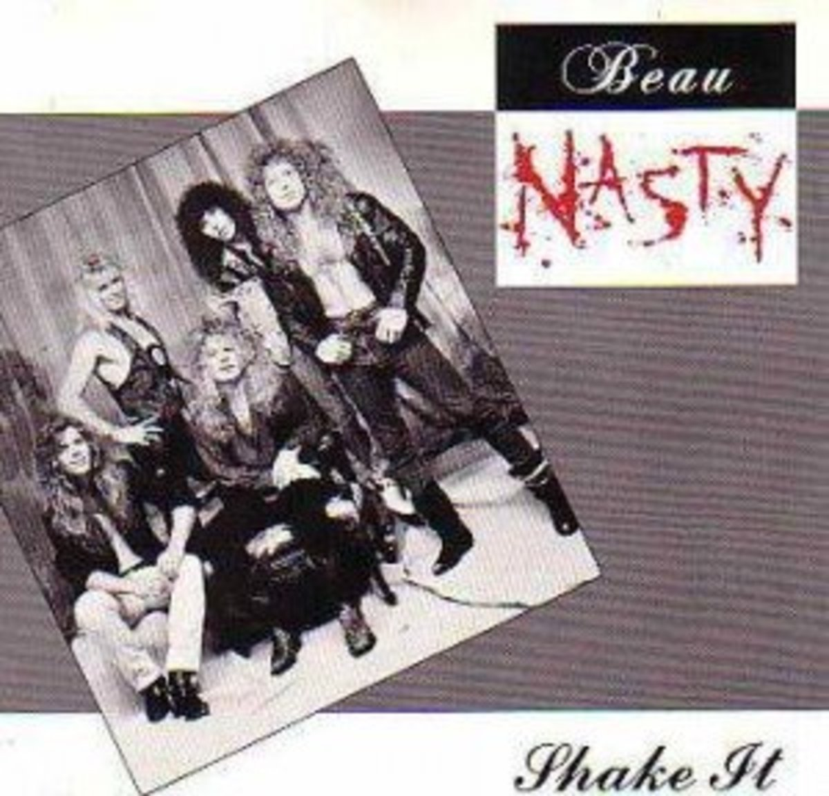 "Promotional version of the album under its original title, ""Shake It"""