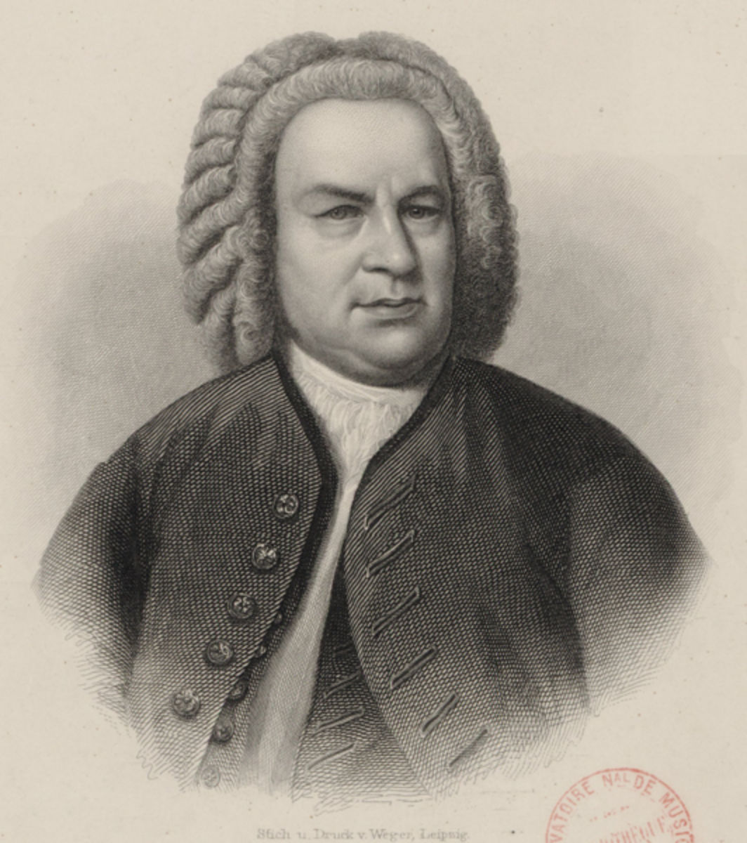 J.S. Bach, a giant among Baroque keyboard players and composers