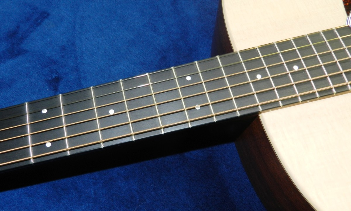 Regularly changing your strings can help keep your fretboard in good shape.