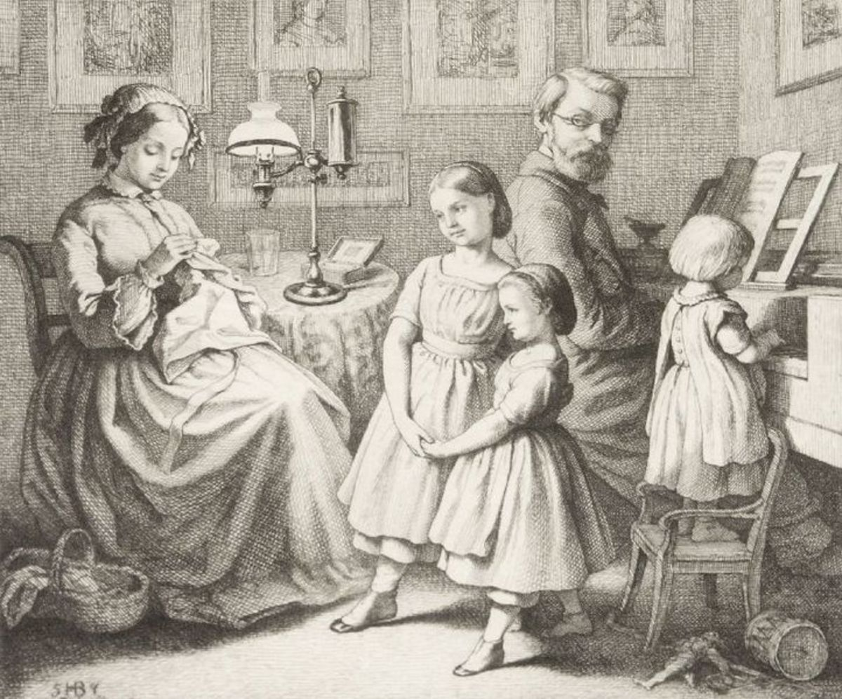 By the end of the Classical period a piano was a common sight in the front rooms of more fortunate families