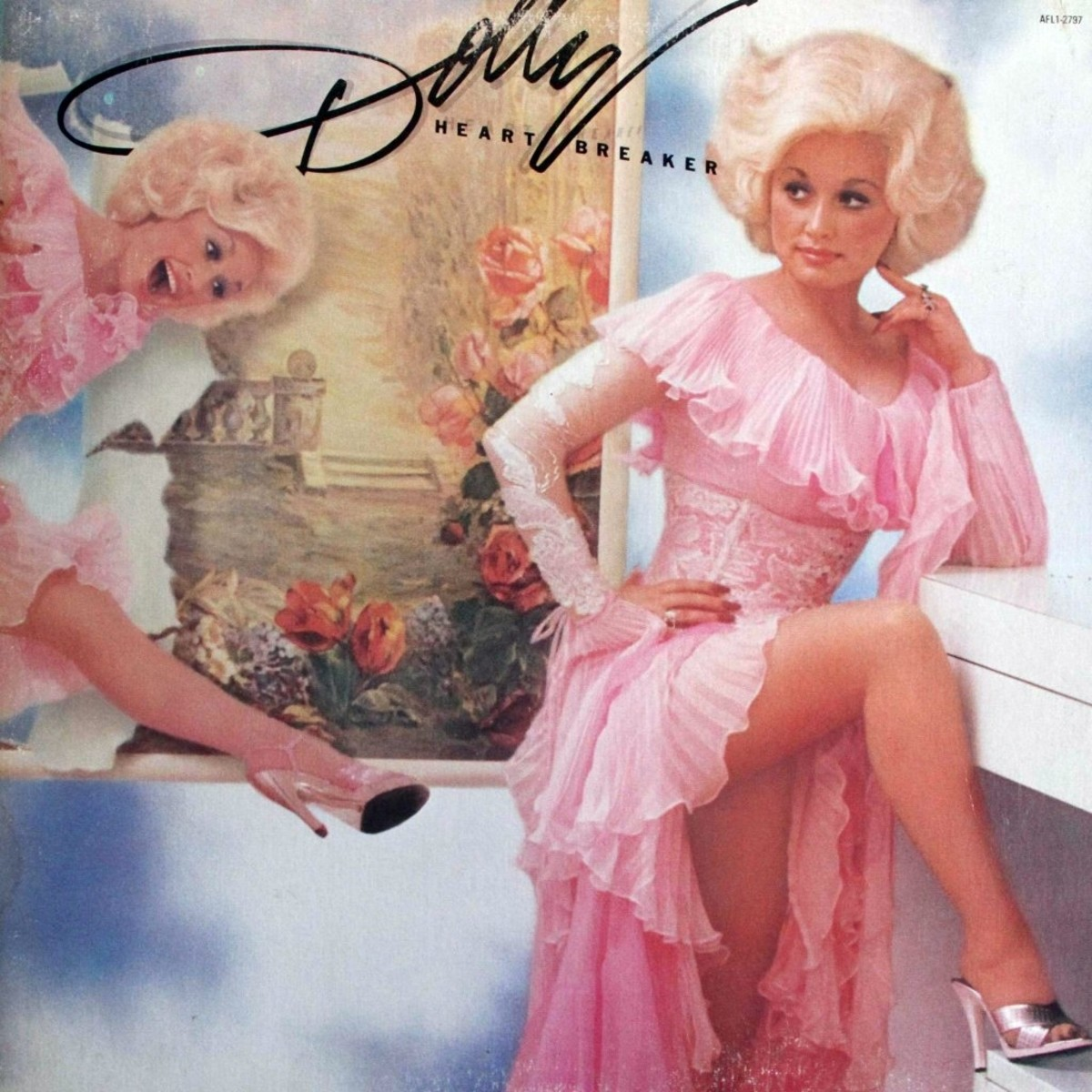 """Cover of Dolly's 1978 hit album Heartbreaker which featured two hit singles, the title track and """"Baby, I'm Burning"""""""