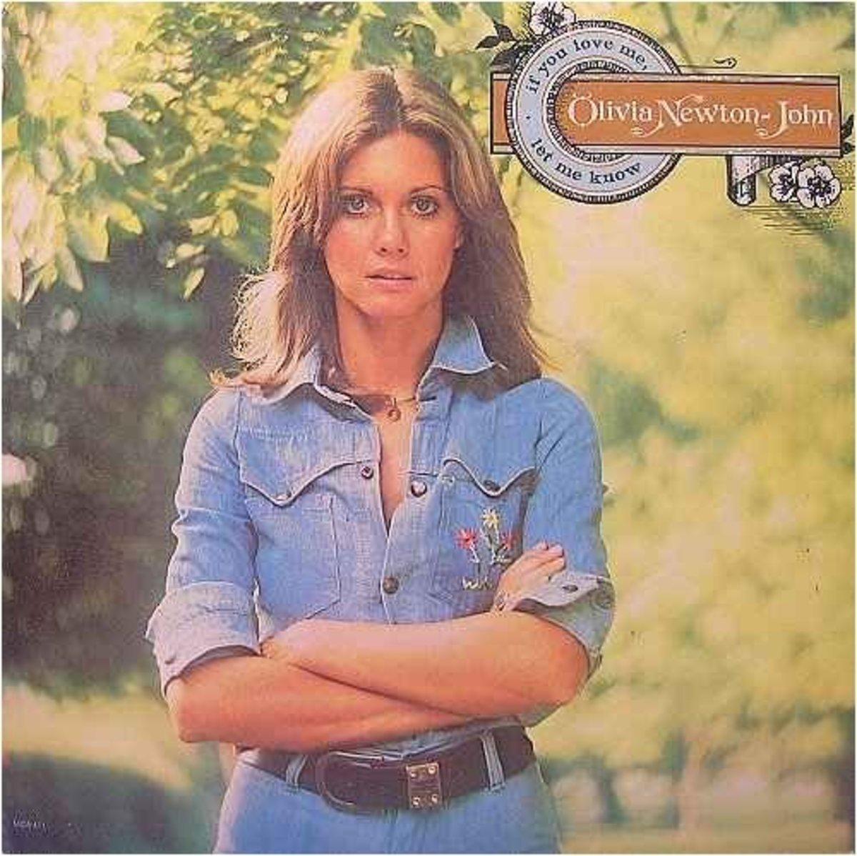 Olivia's classic vinyl album If You Love Me, Let Me Know