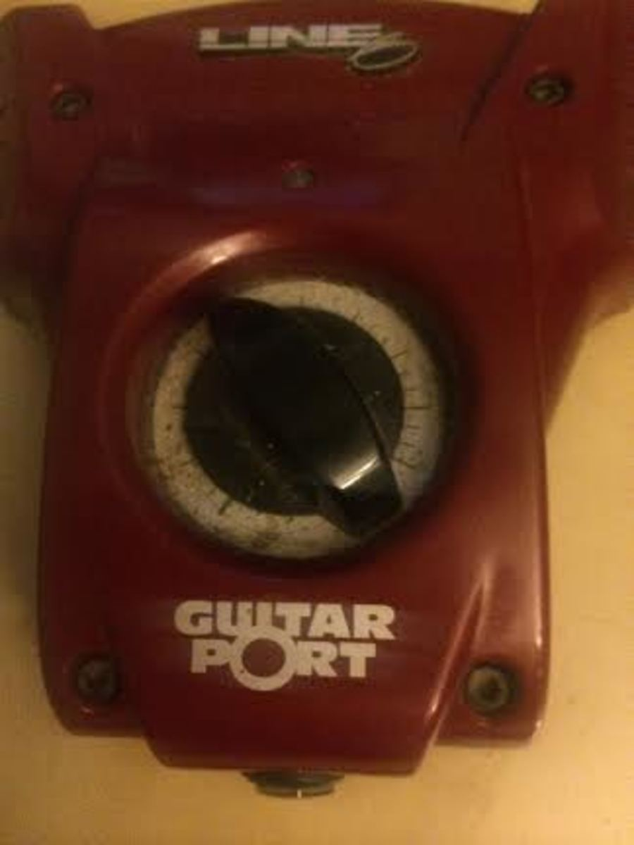My ancient Line6 Guitar Port comes in handy for times when discreet practice is necessary