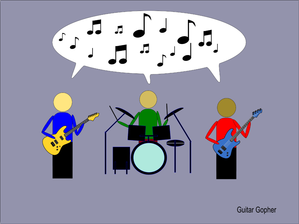 Jamming helps you learn to communicate with other musicians.