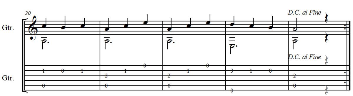 Waltz no. 1 in C by F. Carulli