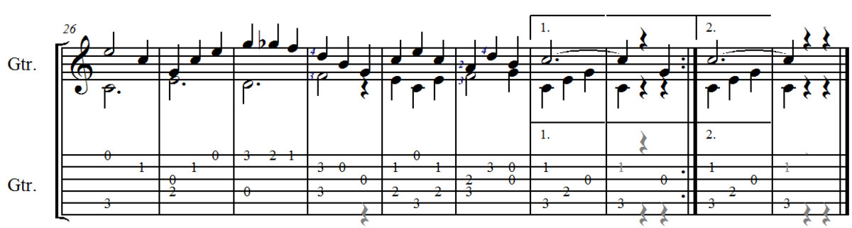 Study No.1 in C from Opus 31