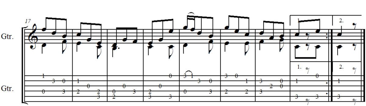 Fernando Sor   Guitar Study no 2 in C Opus 35