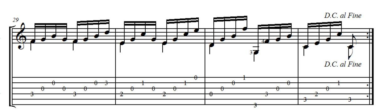 Carulli: Andantino No.1 from Opus 241