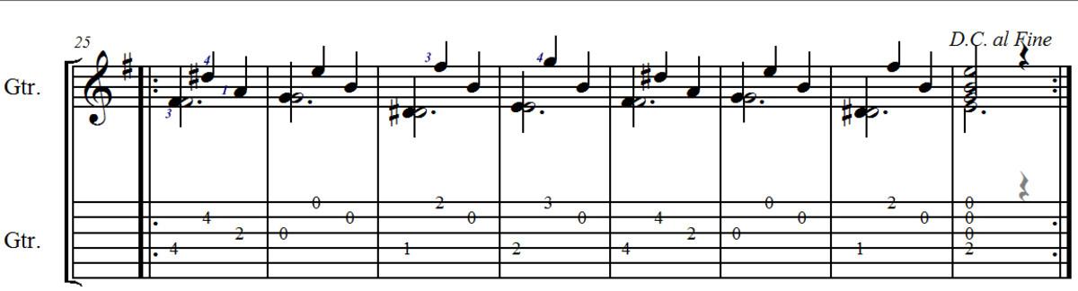 Waltz No. 2 in G by Carulli